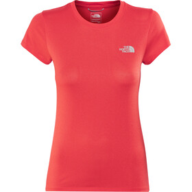 The North Face Reaxion Ampere Crew Shirt Women Juicy Red Heather